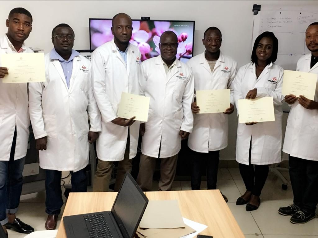 Biomedical Engineers trained and certified by Gradian Health Systems to install, maintain and repair the UAM and CCV